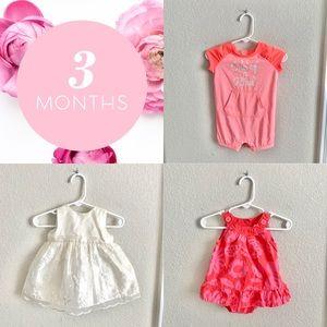 Bundle of 3M Baby Clothing